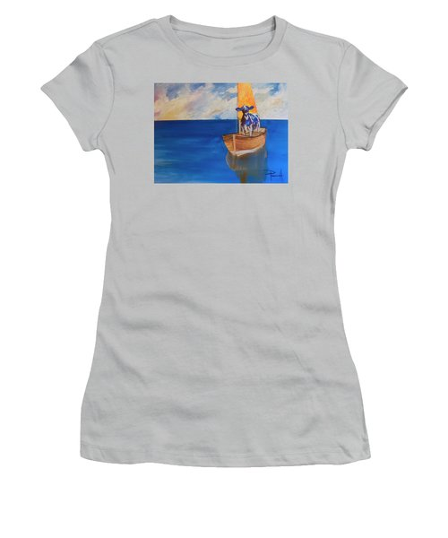 The Milky Way Women's T-Shirt (Athletic Fit)