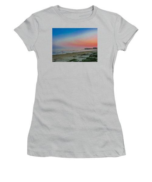 Women's T-Shirt (Junior Cut) featuring the photograph The Night Before Rita by Karen Musick