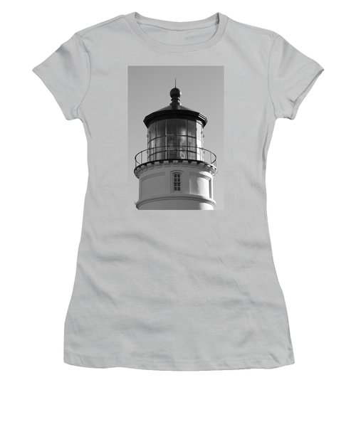 Women's T-Shirt (Junior Cut) featuring the photograph The Night Light by Laddie Halupa