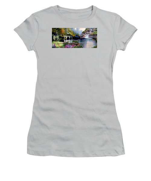 The Path Least Fallowed 2 Women's T-Shirt (Junior Cut) by Ron Chambers