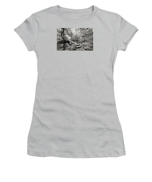 The Path To Nirvana Women's T-Shirt (Athletic Fit)