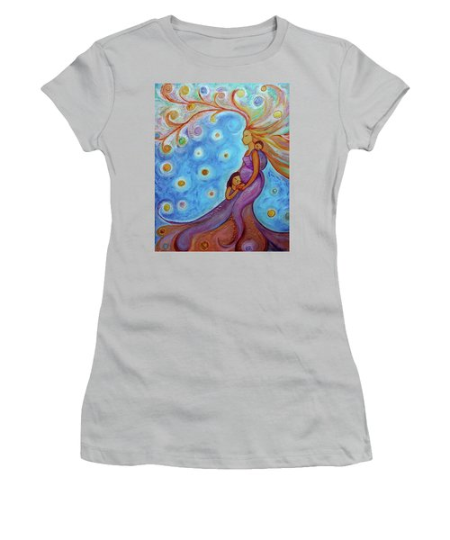 The Queen And Her Childrens  Women's T-Shirt (Athletic Fit)