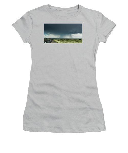 The Rain Storm Women's T-Shirt (Athletic Fit)