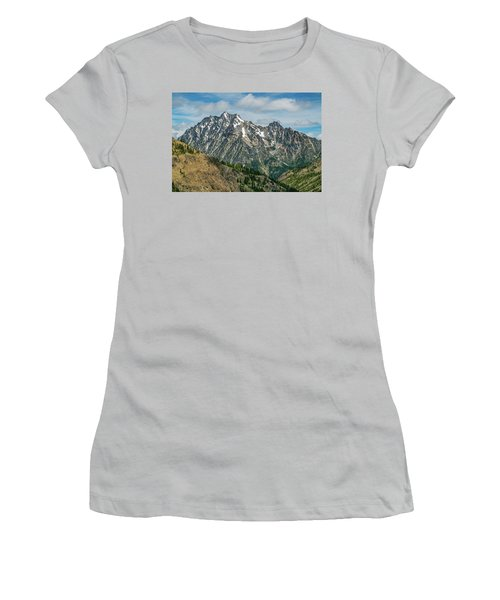 The Rock At Mount Stuart Women's T-Shirt (Junior Cut)