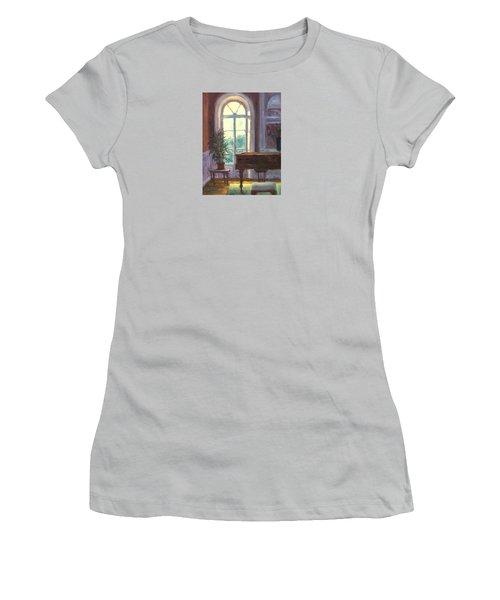 The Salon Women's T-Shirt (Junior Cut) by Jill Musser