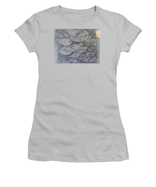The Sea Diver Women's T-Shirt (Athletic Fit)