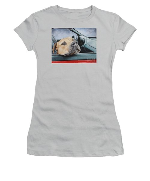 The Smell Of Freedom Women's T-Shirt (Junior Cut) by Mary-Lee Sanders