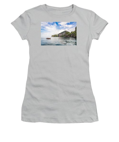 The Stunning  Koh Mook In The Trang Island Women's T-Shirt (Athletic Fit)