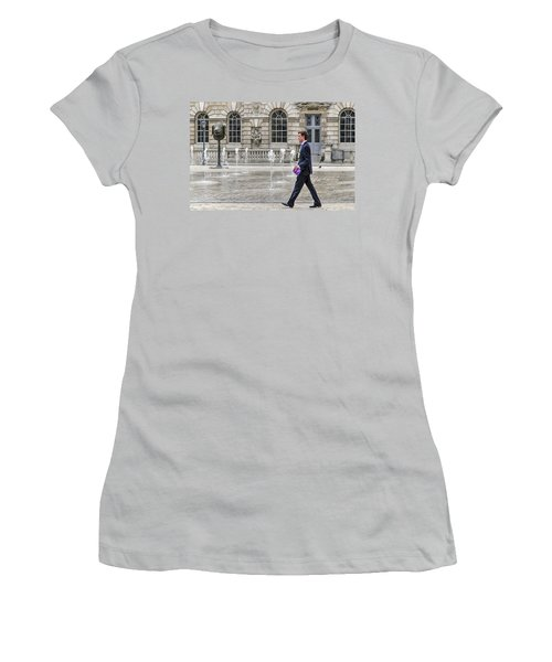 The Tax Man Women's T-Shirt (Junior Cut) by Keith Armstrong