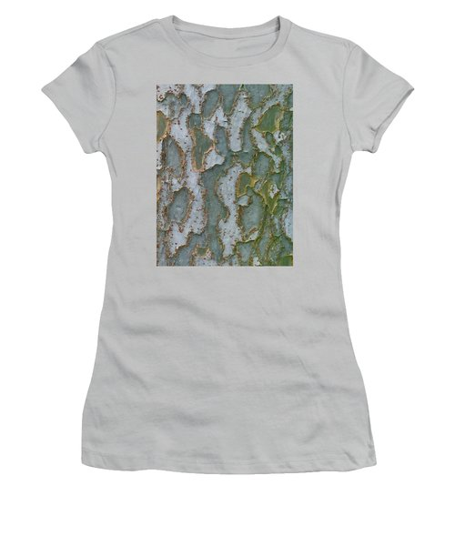 The Texture Is In The Trees3 Women's T-Shirt (Athletic Fit)