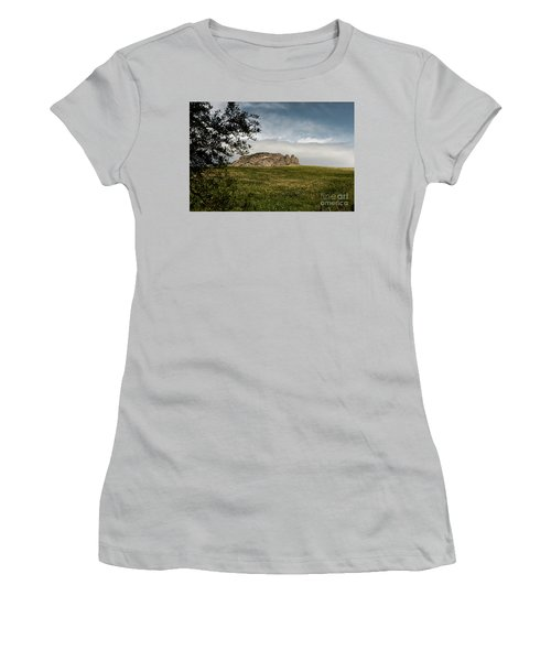 Italy, Calabria, Cimina,the Three Fingers Women's T-Shirt (Junior Cut) by Bruno Spagnolo