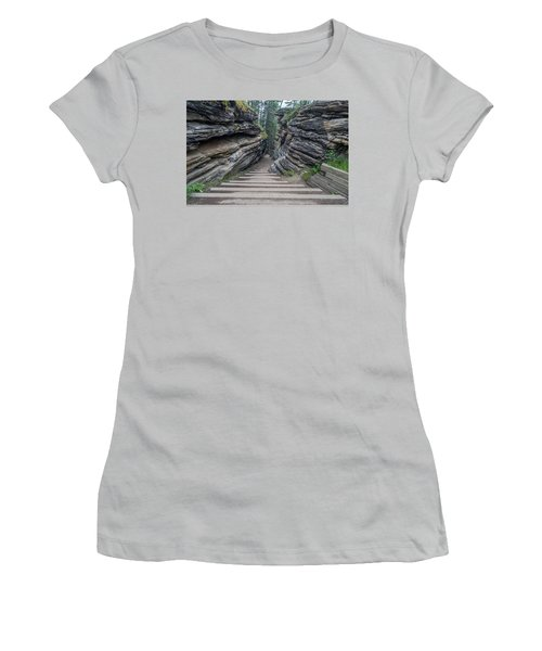 The Unknown Path Women's T-Shirt (Athletic Fit)