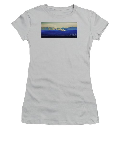 The View From The Top Women's T-Shirt (Junior Cut) by Blair Stuart