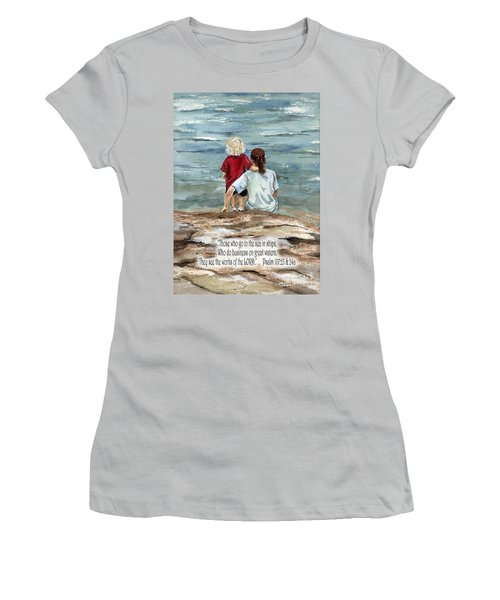 They See The Works Of The Lord  Women's T-Shirt (Athletic Fit)