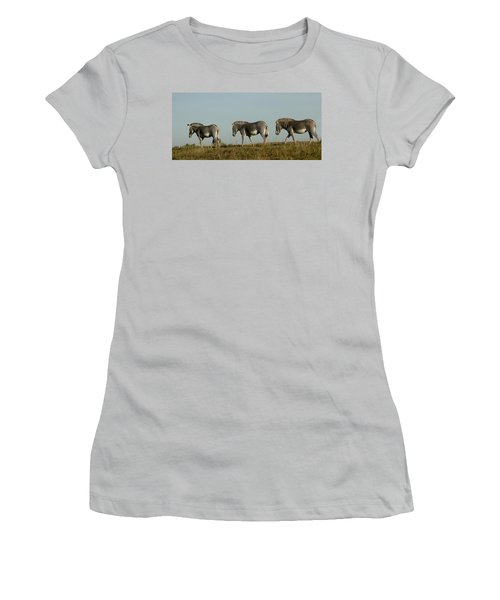 Three On The Horizon Women's T-Shirt (Athletic Fit)