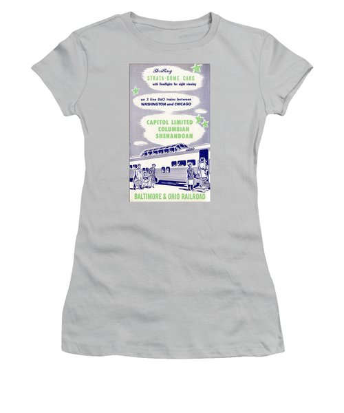 Thrilling Strata-dome Cars Women's T-Shirt (Athletic Fit)