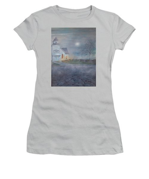 Through The Fog Women's T-Shirt (Athletic Fit)