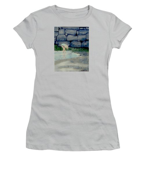 Tidal Pool Treasures Women's T-Shirt (Athletic Fit)
