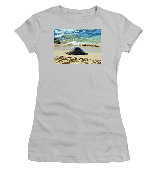 Women's T-Shirt (Junior Cut) featuring the photograph Time For A Rest by Craig Wood