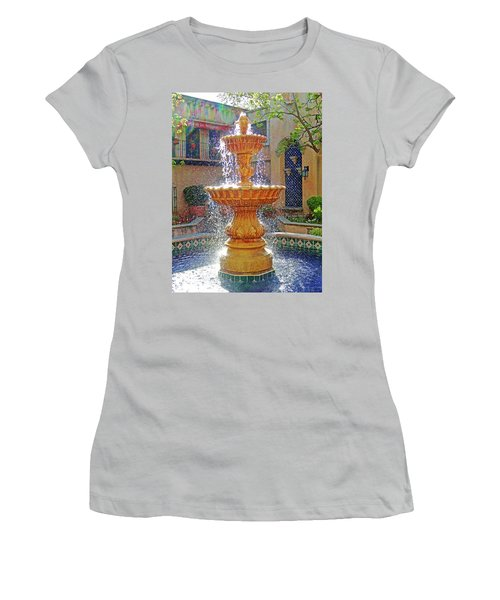 Tlaquepaque Fountain In Sunlight Women's T-Shirt (Athletic Fit)