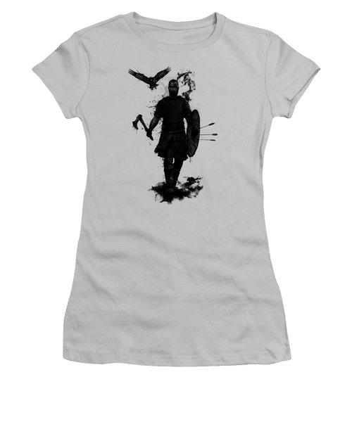 To Valhalla Women's T-Shirt (Junior Cut) by Nicklas Gustafsson