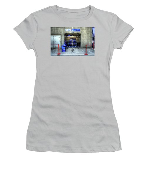 Tony Kanaan Indy Women's T-Shirt (Junior Cut) by Josh Williams
