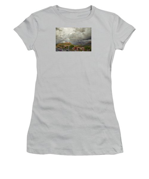 Tour And Explore Women's T-Shirt (Junior Cut) by Tom Kelly