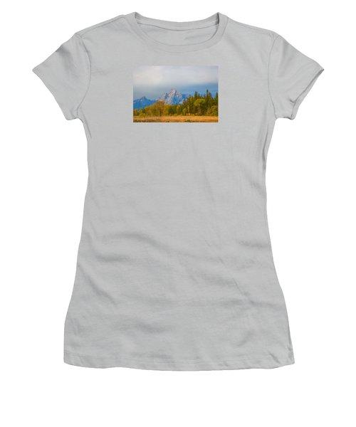 Tranquility Women's T-Shirt (Junior Cut) by Elizabeth Eldridge
