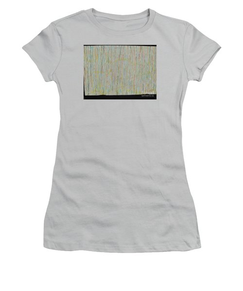 Tranquility Women's T-Shirt (Junior Cut) by Jacqueline Athmann