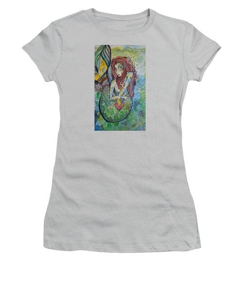 True Love The Sea Women's T-Shirt (Junior Cut) by Claudia Cole Meek