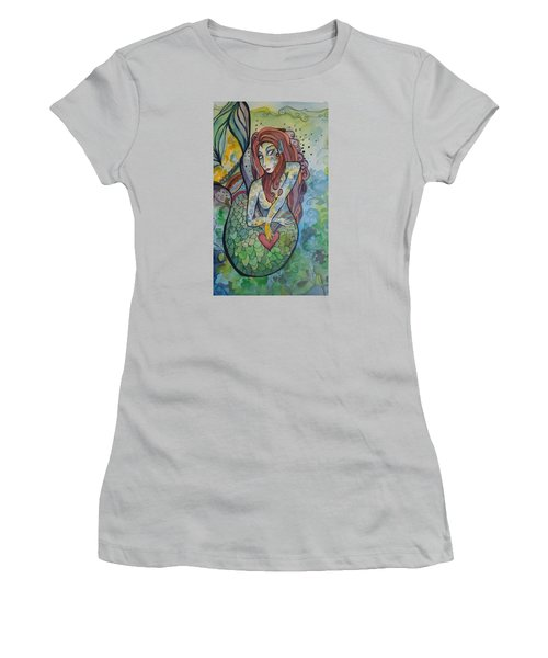 True Love The Sea Women's T-Shirt (Athletic Fit)