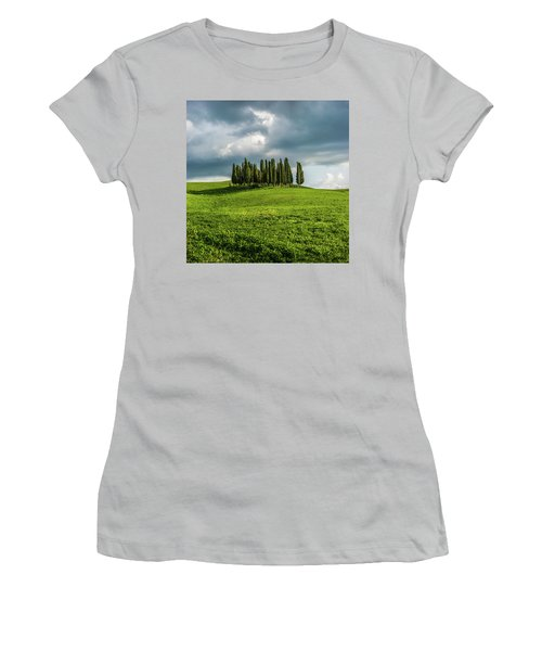 Tuscan Wonderland - Val D Orcia Women's T-Shirt (Athletic Fit)