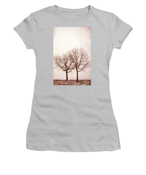 Two Trees#1 Women's T-Shirt (Athletic Fit)