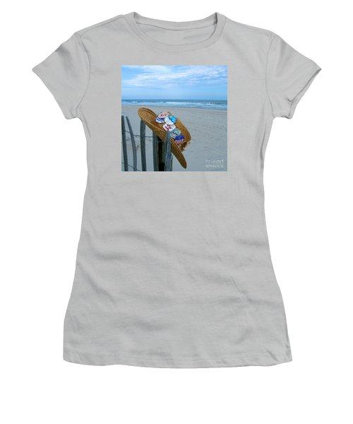 Uncle Carl's Beach Hat Women's T-Shirt (Athletic Fit)