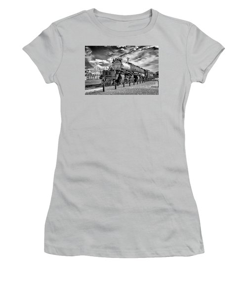 Women's T-Shirt (Junior Cut) featuring the photograph Union Pacific 4-8-8-4 Big Boy by Paul W Faust - Impressions of Light