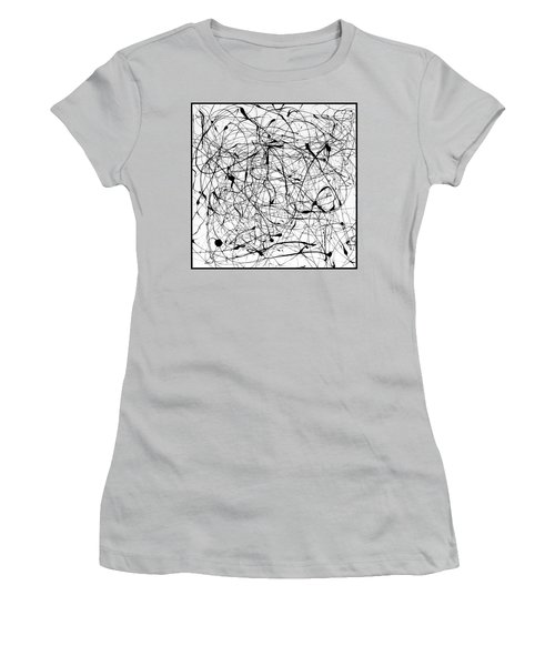 Universal Painting Women's T-Shirt (Junior Cut) by Ismael Cavazos