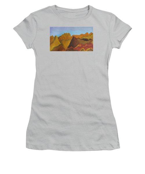 Utah Mountains Women's T-Shirt (Junior Cut) by Don Koester