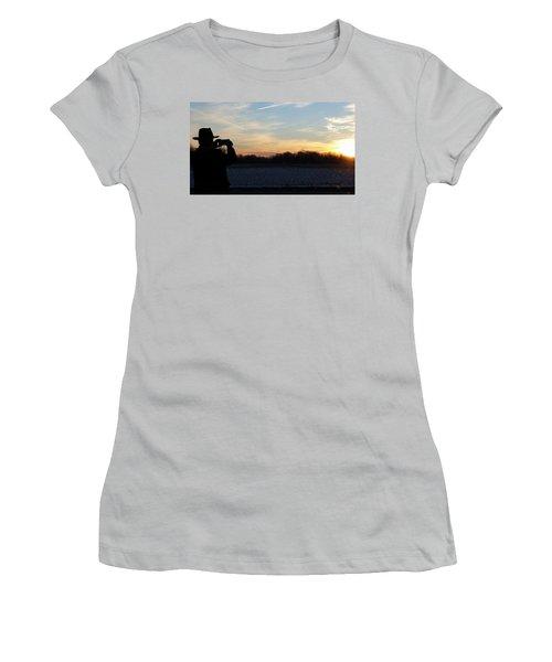Valentines Sunrise Women's T-Shirt (Athletic Fit)