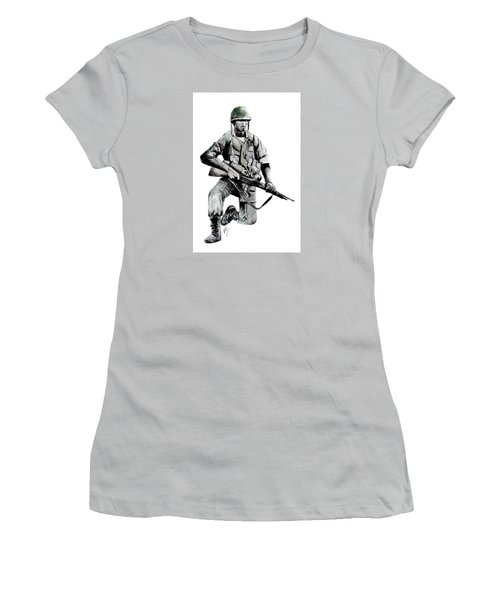 Vietnam Infantry Man Women's T-Shirt (Athletic Fit)