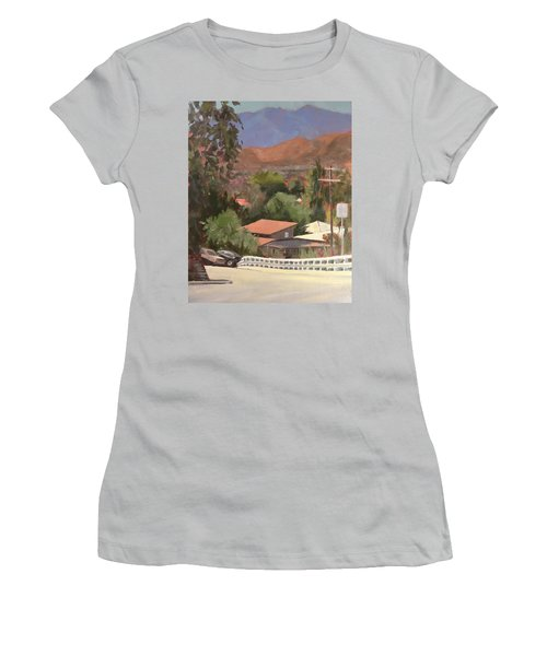 View From Moon Women's T-Shirt (Athletic Fit)