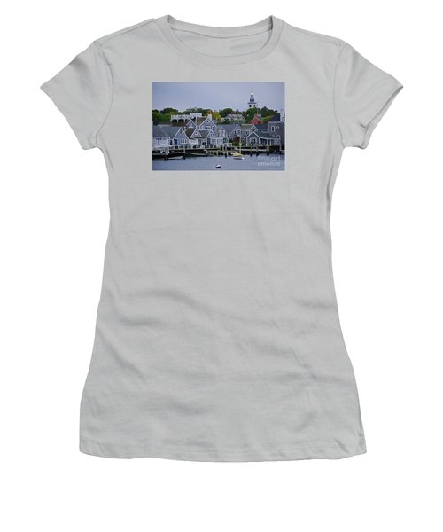 View From The Water Women's T-Shirt (Athletic Fit)