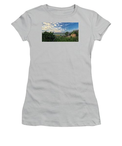 View Of Simi Valley Women's T-Shirt (Junior Cut) by Endre Balogh