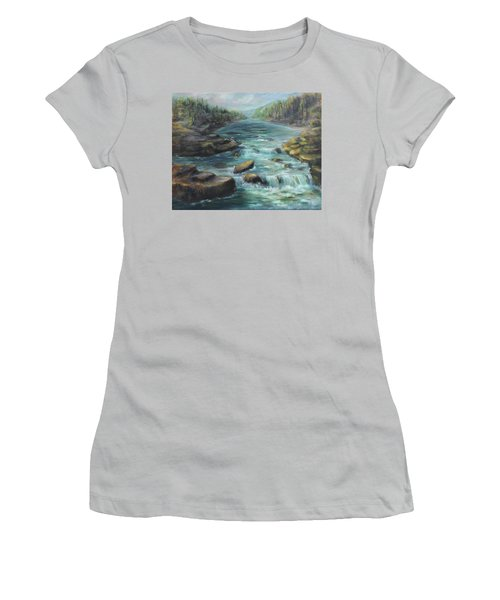 Viewing The Rapids Women's T-Shirt (Athletic Fit)
