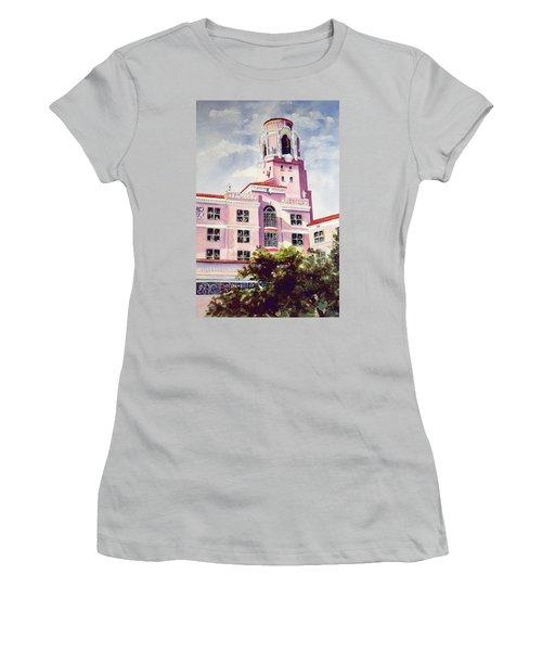 Vinoy, Renaissance Revisted Women's T-Shirt (Junior Cut) by Roxanne Tobaison