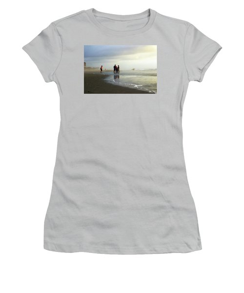 Women's T-Shirt (Junior Cut) featuring the photograph Waiting For The Sun by Phil Mancuso