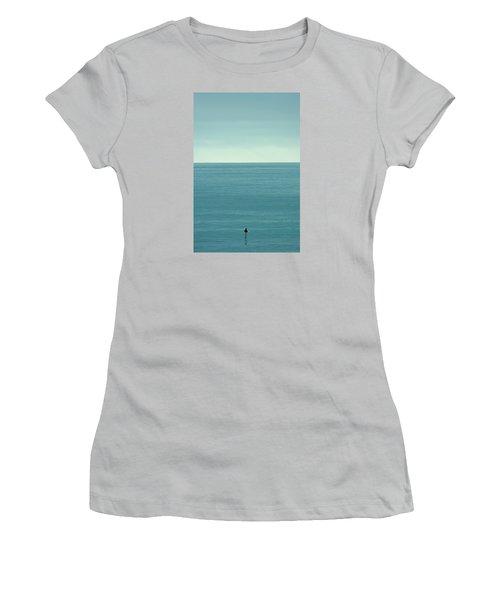 Waiting Women's T-Shirt (Junior Cut) by Peter Tellone