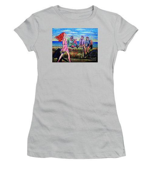 Walking Proud Women's T-Shirt (Junior Cut) by Viktor Lazarev