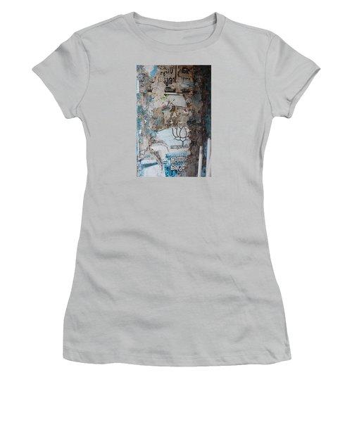 Wall In Kochi Women's T-Shirt (Junior Cut) by Jennifer Mazzucco