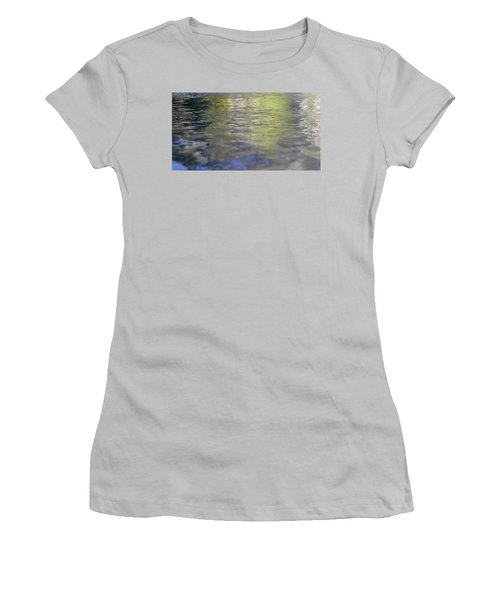 Water Colours Women's T-Shirt (Athletic Fit)