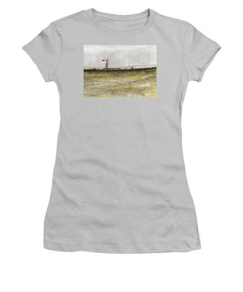 Water, Ranching, And Cattle Women's T-Shirt (Athletic Fit)